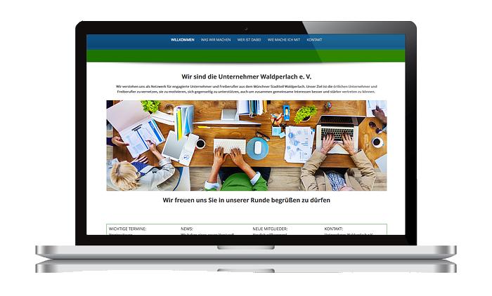 Referenz Internet Unternehmer Waldperlach